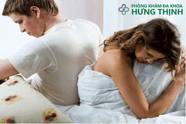 xuất tinh sớm ảnh hưởng đến đời sống vợ chồng