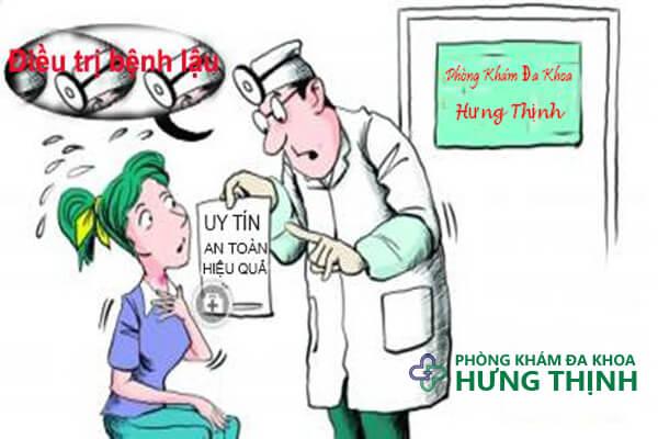 Địa chỉ khám chữa bệnh lậu ở Hà Nội