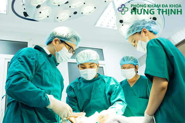 Điều trị bệnh tại phòng khám đa khoa Hưng Thịnh