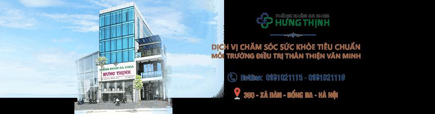 Banner chat phòng khám đa khoa Hưng Thịnh