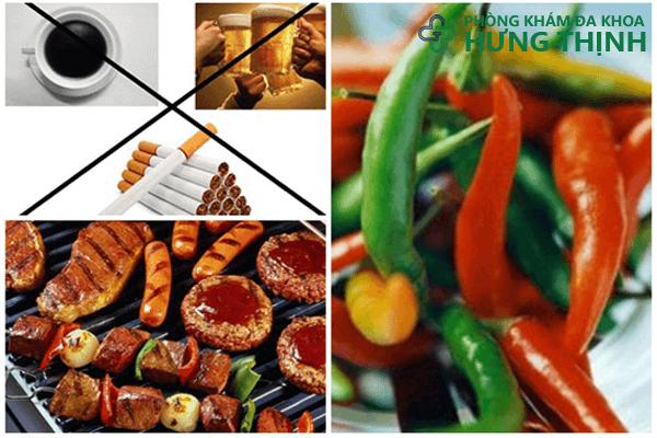 Chế độ ăn uống gây u bướu đại tràng