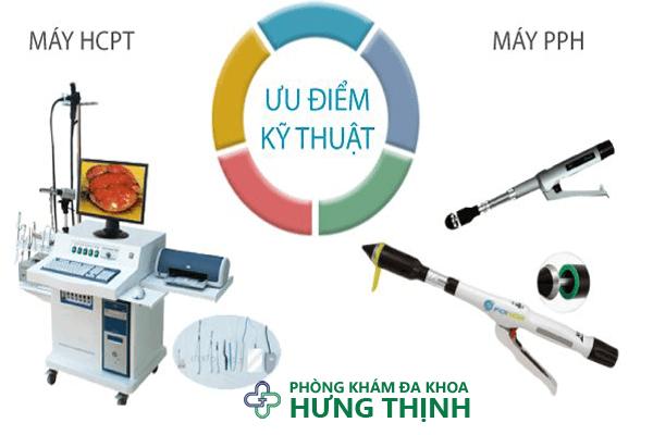 Phương pháp điều trị bằng HCPT và PPH