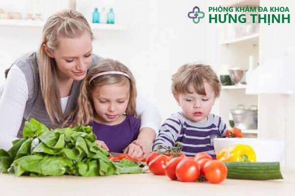 thực phẩm giúp phòng ngừa bệnh trĩ ở trẻ nhỏ