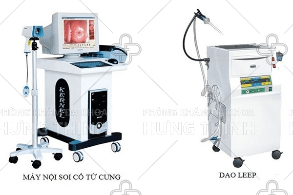 Công nghệ điều trị tại Phòng khám phụ khoa Hưng Thịnh