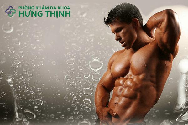 Tập thể dục giúp tăng cường sinh lý ở nam giới