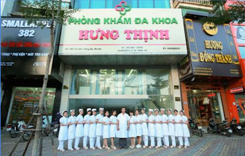Phòng khám đa khoa hưng thịnh chất lượng tại Hà Nội