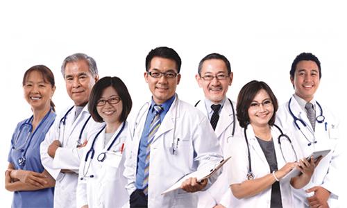 Đội ngũ bác sĩ tại phòng khám đa khoa hưng thịnh